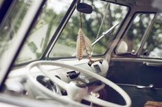 Awesome photographer:  Laura Dart love the feathers and glass door knob shifter handle