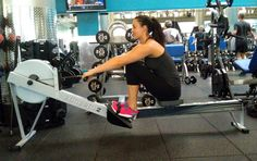 Tips For Using the Rowing Machine - burns up to 280 calories in one minute and works major muscle groups