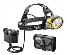 Petzl Ultra Vario Belt headlamp.