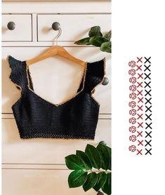 Crochet Bebe, Crochet Crop Top, Crochet Cardigan, Hand Crochet, Crochet Bikini, Knit Crochet, Crochet Clothes, Diy Clothes, Knitting Patterns
