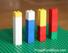 Activities for Teaching Fractions with Legos - Frugal Fun For Boys and Girls Math Activities For Kids, Fun Math Games, Math Resources, Teaching Fractions, Teaching Math, Math Fractions, Maths, Lego Math, Math Classroom