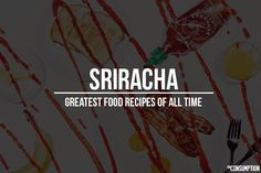 The 17 Greatest Sriracha Hot Sauce Food Recipes. I Sriracha! --- read these Moore Cambronero Garrison Acosta Brown Yummy Recipes, Great Recipes, Yummy Food, Favorite Recipes, Hot Sauce, Nom Nom, Food And Drink, Stuffed Peppers, Reading