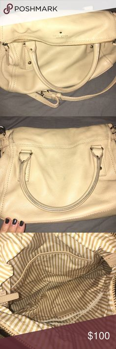 PRESIDENTS DAY SALE Tan Kate Spade purse I bought this used and it's been amazing but time for me to pass it on. Holds lots of stuff, I just don't use it as much as I thought I would. Multiple pockets, soft leather, goes with everything! kate spade Bags Crossbody Bags