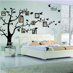 photo tree frame family forever memory tree wall decals ZooYoo94ABS removable…