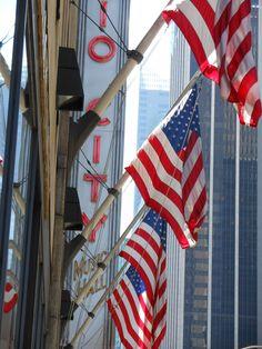 Radio City Music Hall. How patriotic!