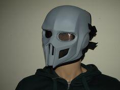 Mortal Kombat Noob Saibot Full Face Grey by HiddenAssassins