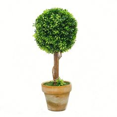 St 2 Sizes Can Be Selected Bonsai-artificial Plant Decor Topiary-artificial Mini Tree-003 (9.4 Tall 4.7Wx4.7L) *** Learn more by visiting the image link.