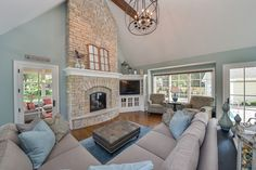 Hellyer Custom Builders new home in Naperville IL -Family Room