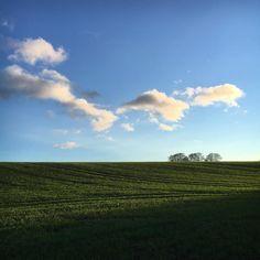 Clouds trails...