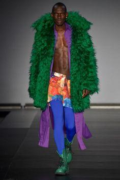 BRASIL F/W 15 | CASA DE CRIADORES | FELIPE FANAIA. Fake fur for real glamour! That's garbage.