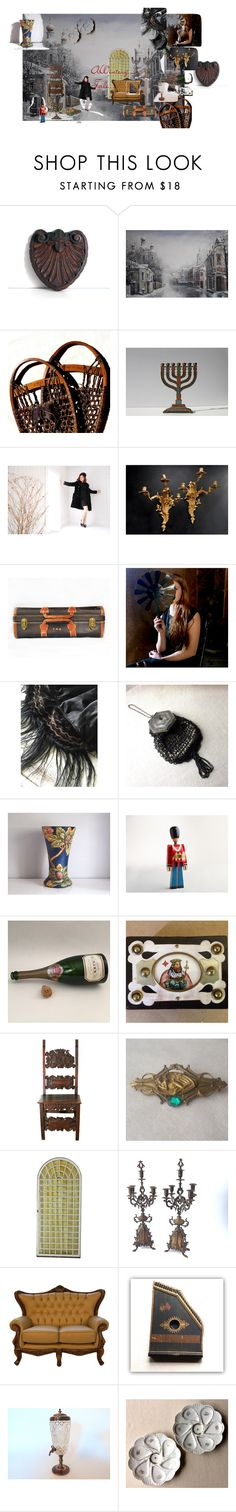 a wintery tale by gentlemanlypursuits on Polyvore featuring interior, interiors, interior design, home, home decor, interior decorating, Krug, Kay Bojesen and vintage