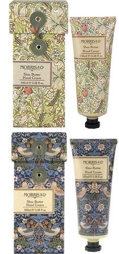 William Morris Packaging Förpackad -Sveriges största förpackningsblogg Förpackningsdesign, Förpackningar, Grafisk Design - CAP&Design - Nordens största tidning för kreativa formgivare