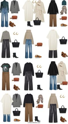 Simple Fall Outfits, Basic Outfits, Casual Winter Outfits, Winter Fashion Outfits, Look Fashion, Autumn Fashion, Cute Outfits, Fashion Basics, Capsule Wardrobe Casual