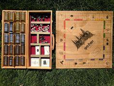 DIY Harry Potter Monopoly Board - MyFunnyPalace
