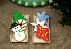 Christmas Decoration Sugar Cookies.