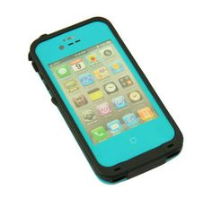 Hot Baby Blue Waterproof Shockproof PC Dirt Proof Case Cover For iPhone 4 4S