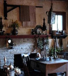 Kitchen Witchery: A #Witch s #kitchen Rustic house Rustic living room Home