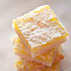 I try lemon bar where ever I go and I keep coming back to these.