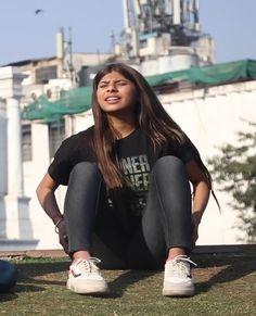 209. Two Desi Girls Fighting In The Park Hair Lengthening, Girl Back, Girl Fights, Bodysuit Fashion, College Girls, Indian Beauty, Lesbian, Desi, Sporty