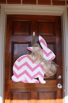 Easter Wreath, Easter Bunny, Easter Door Hanger, Rabbit, Bunny by SouthernStyleGifts on Etsy https://www.etsy.com/listing/221088278/easter-wreath-easter-bunny-easter-door