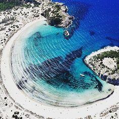 Voidokoilia beach, Messinia, Greece