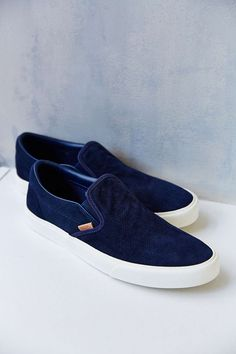 Vans Classic California Knit Suede Slip-On Men's Sneaker