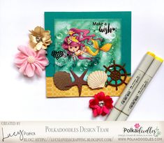 Lucy loves scrapping: Polkadoodles DT card