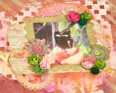 How to Scrapbook Advanced Tutorial with Mixed Media and Inks