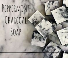 Peppermint Charcoal Soap Recipe