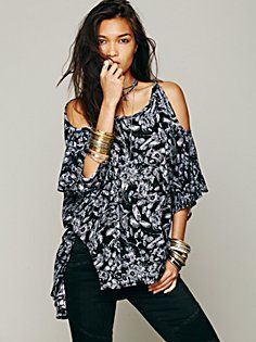 FP New Romantics Echo Me Floral Top in new-romantics