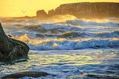 Otter Crest Sunset by seaver1