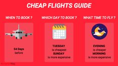 how to book cheap flights mini guide Flight Fare, Book Cheap Flights, Airplane Travel, Good Things, Best Deals, Reading, Mini, Books, Libros