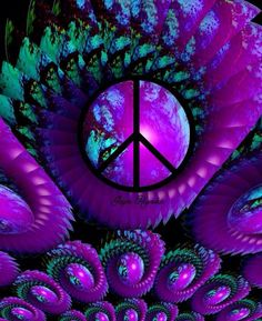 Peace in Purple