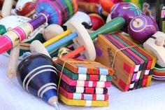 Madera, colores y tradición dan vida a la diversión