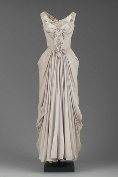 """Charles James dress ca. 1951 via The Museum of Fine Arts, Boston"""