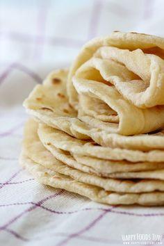 Mashed Potato Flatbread (2 ingredients - mashed potatoes & flour)