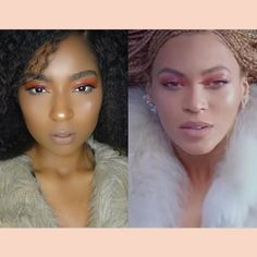 Beauty look inspired by Beyoncé. @ChellaBeauty