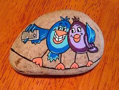 Pebble Painting, Pebble Art, Stone Painting, Painted Rock Animals, Hand Painted Rocks, Rock Painting Patterns, Rock Painting Designs, Cow Sketch, Happy Rock