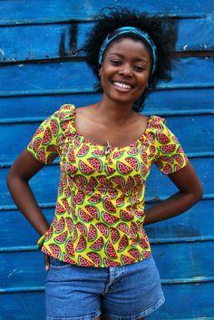 Signature SummerTop Latest African Fashion, African Prints, African fashion styles, African clothing, Nigerian style, Ghanaian fashion, African women dresses, African Bags, African shoes, Nigerian fashion, Ankara, Aso okè, Kenté, brocade etc ~DKK