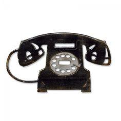 Sizzix Bigz Die - Vintage Telephone