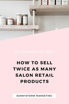 Salon Marketing Idea: Learn how to sell twice as much salon retail products during the holidays by promoting them on social media!