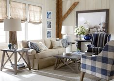 Shop the best Ethan Allen furniture for summer on domino. Domino shares the best pieces of Ethan Allen furniture for making your home feel like summer all year. Living Room Sofa, Home Living Room, Living Room Designs, Living Room Furniture, Living Room Decor, Sunroom Furniture, Cottage Furniture, Upholstered Furniture, Apartment Living