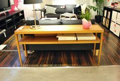 Stockholm Sofa table from Window Shopping: Ikea's New Stuff! | Young House Love