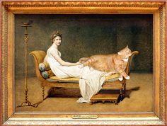 French Art XVIII-early XIX century David, Madame Recamier