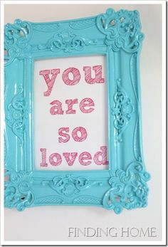 Would be cute for M's room, but in pink and black