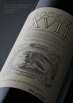 De Toren Book XVII 2011 - only 1197 bottles produces – Extreme #wine #SouthAfrica