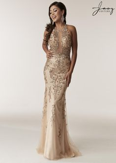 be697e076d1 Jasz Couture 6295 Prom 2018 - Shop this style and more at oeevening.com Nude