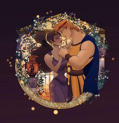 Image about disney in Mi estilo by Candeeh Vence Meg Hercules, Disney Hercules, Disney Artwork, Disney Fan Art, Disney Drawings, Disney And More, Disney Love, Disney Magic, Megara Disney