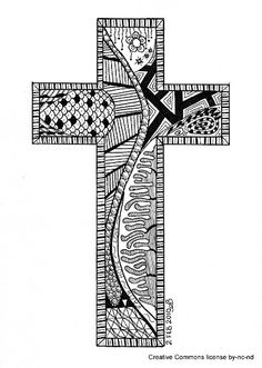 -line -shape -pattern -value Doodle Designs, Doodle Patterns, Cross Patterns, Zentangle Patterns, Mandala Pattern, Mandala Design, Zentangle Drawings, Doodles Zentangles, Doodle Drawings