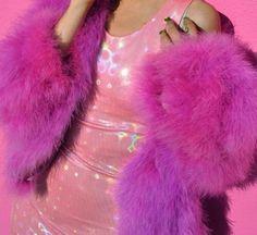 Pink Fur Coat <3